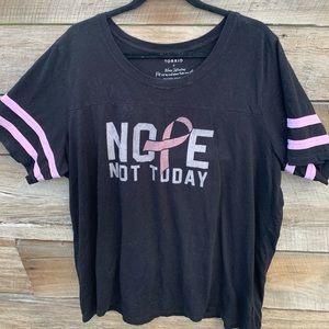 Plus Size 3X Torrid Cancer Awareness Shirt